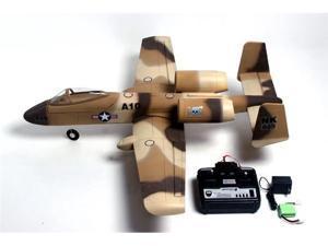 4-CH A-10 Thunderbolt 2 EDF RC w/Dual Motor & ESC + Battery 100% RTF Airplane Jet