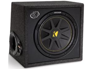 "KICKER VC12 12"" LOADED SUBWOOFER CAR AUDIO STEREO BOX ENCLOSURE 150W 2 OHM NEW"