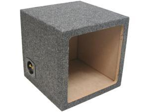 SINGLE 12 KICKER SOLOBARIC L3 L5 L7 SUBWOOFER SEALED ENCLOSURE SPEAKER SUB BOX