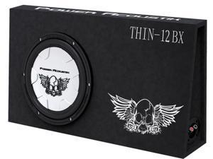 POWER ACOUSTIK THIN 12BX NEW SUBWOOFER 4 OHMS IMPEDENCE