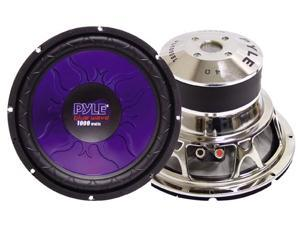 PYLE CAR AUDIO PL1590BL NEW 15 INCH 1400 WATT DVC SUBWOOFER BLUE CHROME BASKET