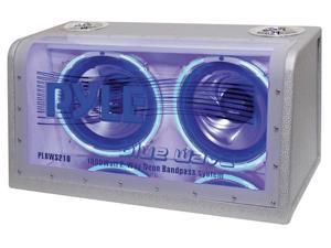 "PYLE PLBWS212 Dual 12"" 1200W Bandpass w/Neon Woofer Rings"