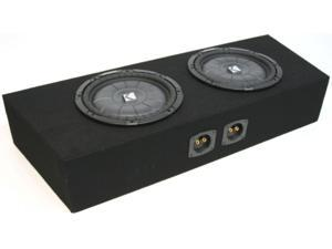 "FORD MUSTANG CONVERTIBLE DUAL 12"" POWERED SUB BOX NEW"