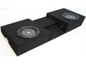 "TOYOTA TACOMA 05-09 POWERED 10"" KICKER LOADED SUB BOX"