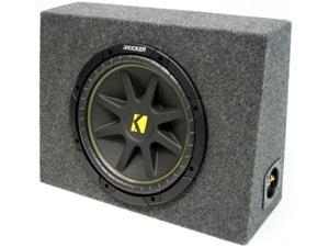 "KICKER 10"" LOADED 2010 C10 SUB TRUCK SUBWOOFER BOX NEW"