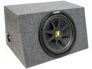"KICKER 10"" LOADED 2010 C10 SUB COMP SUBWOOFER BOX NEW"