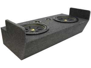 FORD RANGER 83-09 DUAL 12 KICKER C12 CUSTOM SUB BOX NEW