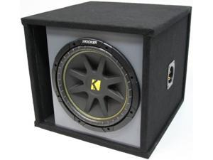 "KICKER 12"" PREMIUM LOADED C12 SUBWOOFER BOX SUB NEW"