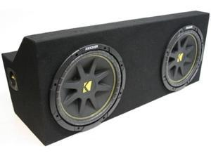 "FORD MUSTANG 05-08 DUAL 12"" KICKER C12 COMP SUB BOX NEW"