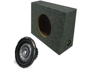 KICKER SUBWOOFER PACKAGE CVT10 SUB & TRUCK SUB BOX NEW
