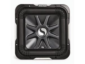 KICKER S15L7 CAR AUDIO 2 OHM L7 2000W SQUARE SUBWOOFER