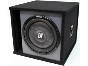"KICKER 10"" PREMIUM LOADED CVT10 SUBWOOFER BOX SUB NEW"