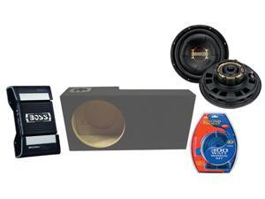 "FORD EXPLORER SPORT TRAC 01-06 BOSS 10"" PHANTOM SUB BOX CE502 500W AMPLIFIER AMP"