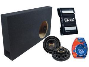 "FORD 150 EXT & CREW TRUCK 99-06  BOSS 10"" PHANTOM SUB BOX CE502 500W AMPLIFIER"