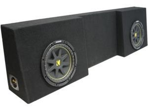 "KICKER 10"" C10 COMP SUB TRUCK SUBWOOFER ENCLOSURE NEW"
