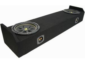 "HONDA RIDGELINE 05-09 DUAL 10"" LOADED KICKER SUB BOX"