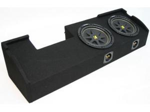 "FORD F-150 00-03 DUAL 10"" KICKER C10 COMP TRUCK SUB BOX"