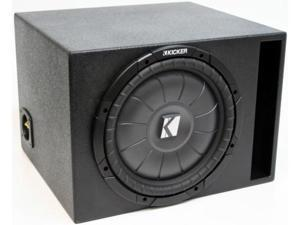 "KICKER 10"" LOADED  SUB CVT10 SUBWOOFER ENCLOSURE NEW"