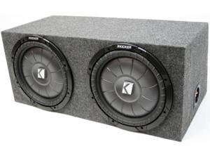 "KICKER DUAL 10"" LOADED CVT10 SUB LOADED SUBWOOFER BOX"
