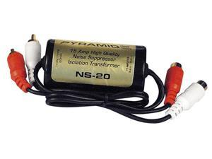 PYRAMID CAR AUDIO NS20 NEW 15 AMP RCA NOISE SUPPRESSOR ISOLATION TRANSFORMER