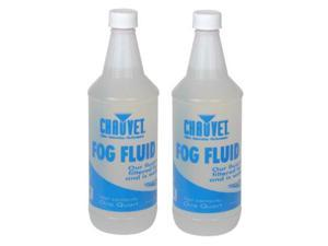 2X CHAUVET FJ-Q FOG SMOKE MACHINE JUICE FLUID 1 QT NEW