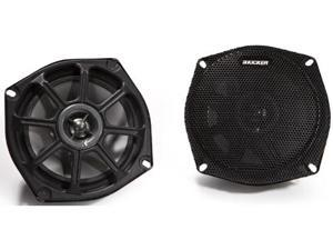 "NEW KICKER 2010 5.25"" 100W SPEAKERS MOTORCYCLE ATV BOAT"