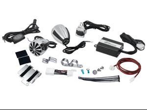 LANZAR OPTIMC91BT OPTI DRIVE COMPLETE BLUETOOTH-ENABLED MOTORCYCLE SPEAKER KIT