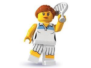 Lego: Female Tennis Player Mini-Figure