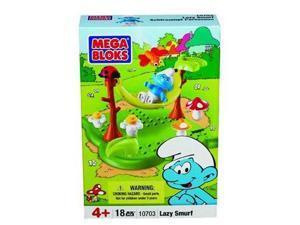 Smurfs Mega Bloks: Lazy Smurf Set