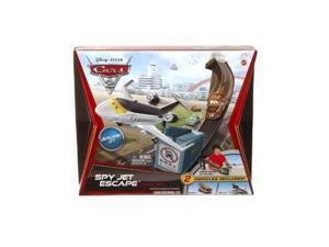 Cars 2 Movie: Launching Jet Spy Jet Escape with Mater Track Set