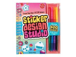 Klutz: Sticker design Studio Art Book