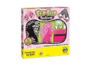 Creativity For Kids: Flip Flop Fashions Arts & Crafts