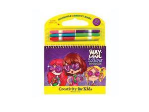 Coloring & ARTivity Books: Way Cool Diva Doodles Arts & Crafts