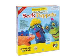 Make Your Own: Sock Puppets Arts & Crafts