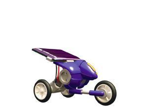 Uncle Milton: Solar Racers - Blue Micro Vehicle