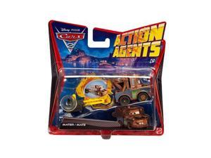 Cars 2: Action Agents Mater with Spy Gear Car Launcher Vehicle