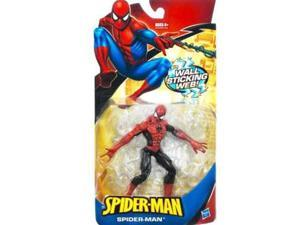 Spider-Man Trilogy: Red & Blue Spider-Man With Wall Sticking Web Action Figure