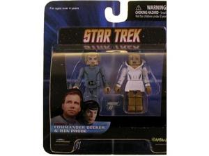 Minimates: Commander Decker & Ilia Probe Action Figure 2-Pack