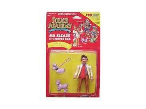 Police Academy: Mr. Sleaze with Foo Foo Dog Action Figure