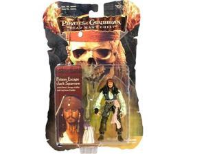 Pirates of the Caribbean Dead Mans Chest: Prison Escape Jack Sparrow Action Figure