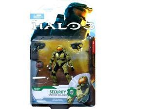 HALO 3 Series 4: Spartan Security Soldier (Olive) Action Figure