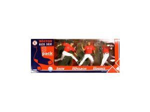 Mcfarlane Sportspicks: Boston Red Sox Action Figure 3 Pack with Manny Ramirez, J.D. Drew & Jonathan Papelbon