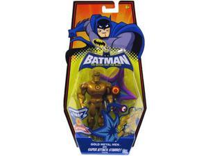 Batman: Gold Metal Men w/Super Attack Starro Action Figure