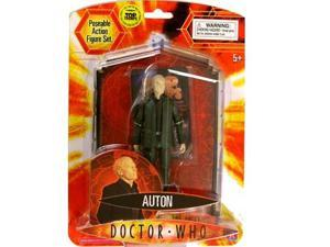 Doctor Who Series 1: Auton (With Top Trumps Card) Action Figure