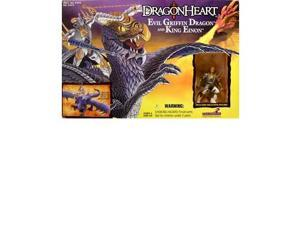 Dragonheart: Evil Griffin Dragon and King Einon Action Figure