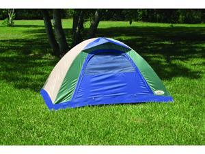 Texsport Brookwood Dome 2 Person Tent Green Tan