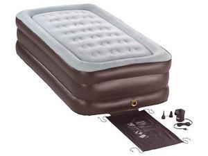 Twin Size Double High Quickbed® Air Bed with Electric Pump