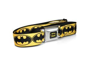 Batman Bat Signal Yellow Auto Seatbelt Buckle Strap Belt