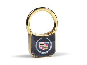 Cadillac Logo Gold Plated Key Chain
