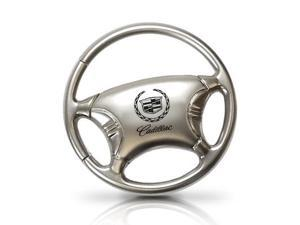 Cadillac Logo Steering Wheel Key Chain